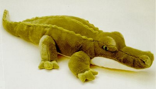 "Aurora ""Super Swampy"" Stuffed Plush Alligator"