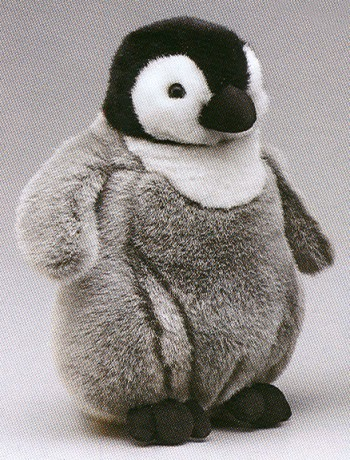 Wildlife Artists Stuffed Plush Emperor Penguin Chick