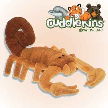 Wild Republic Cuddlekins Stuffed Plush Scorpion
