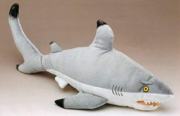 Wildlife Artists Stuffed Plush Black Tip Shark
